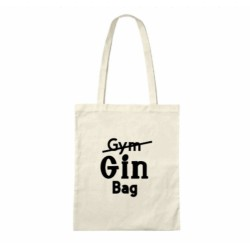 Gin/Gym Bag - Cheese Themed Cotton Tote Bag